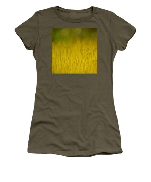 Moss In Yellow Women's T-Shirt
