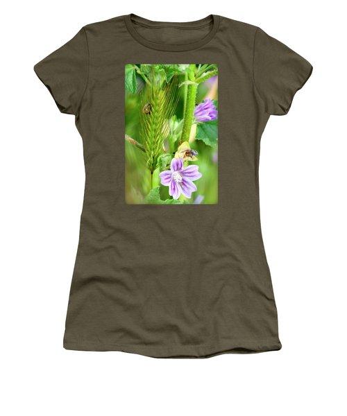 Women's T-Shirt (Junior Cut) featuring the photograph Natural Bouquet by Pedro Cardona