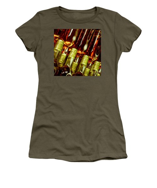 Women's T-Shirt (Junior Cut) featuring the photograph New Wine by Lainie Wrightson