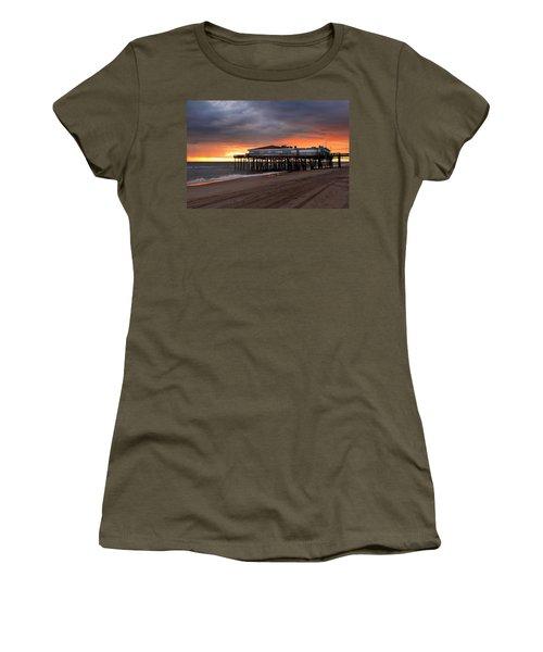 Old Jennettes Pier Women's T-Shirt