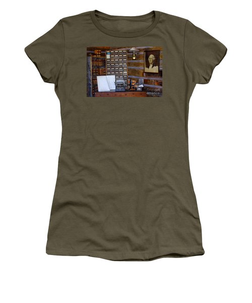 Women's T-Shirt (Junior Cut) featuring the photograph Old West 3 by Deniece Platt