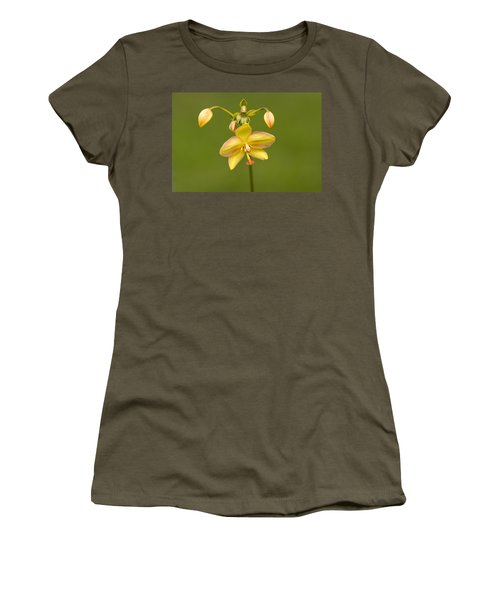 Orchid Number 1 Women's T-Shirt (Junior Cut) by Rich Franco