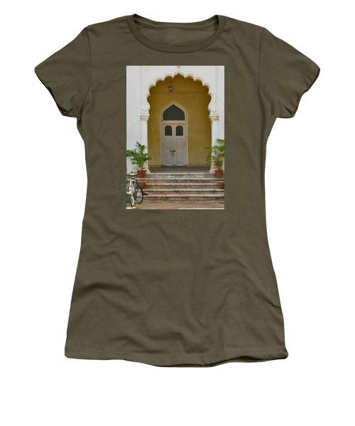 Women's T-Shirt (Junior Cut) featuring the photograph Palace Door by David Pantuso