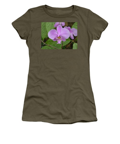 Pale Pink Orchid Women's T-Shirt