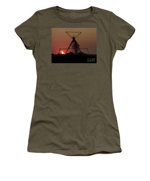 Partial Solar Eclipse Women's T-Shirt