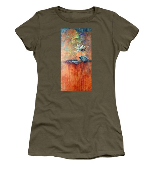 Patina Lotus Women's T-Shirt