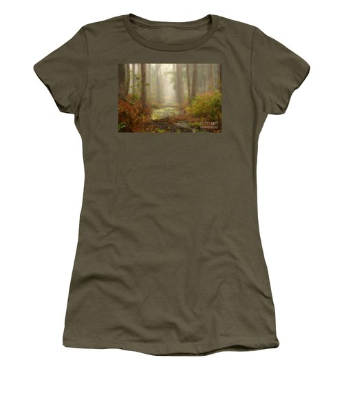 Peaceful Pathway Women's T-Shirt (Athletic Fit)