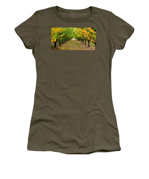 Pear Orchard Women's T-Shirt (Junior Cut) by Katie Wing Vigil