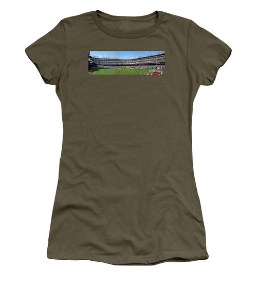 Globe Life Park, Home Of The Texas Rangers Women's T-Shirt (Athletic Fit)
