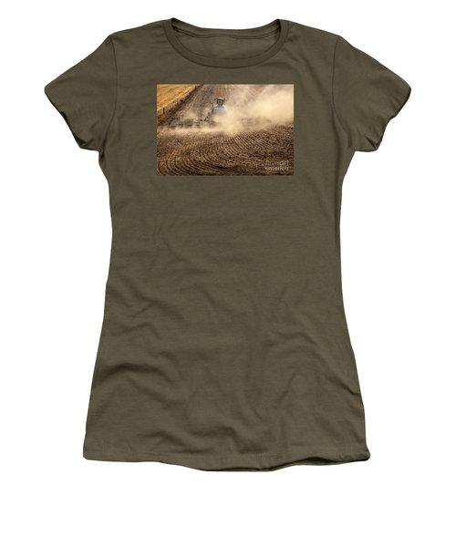 Plowing The Ground Women's T-Shirt