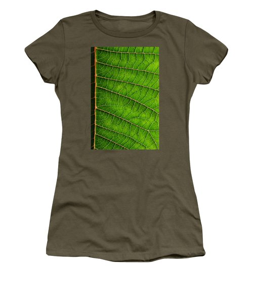 Poinsettia Leaf IIi Women's T-Shirt
