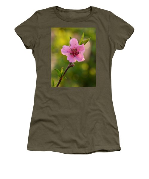 Pretty Pink Peach Women's T-Shirt