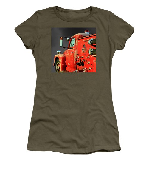 Pumper No. 2 - Retired Women's T-Shirt (Junior Cut) by Betty Northcutt