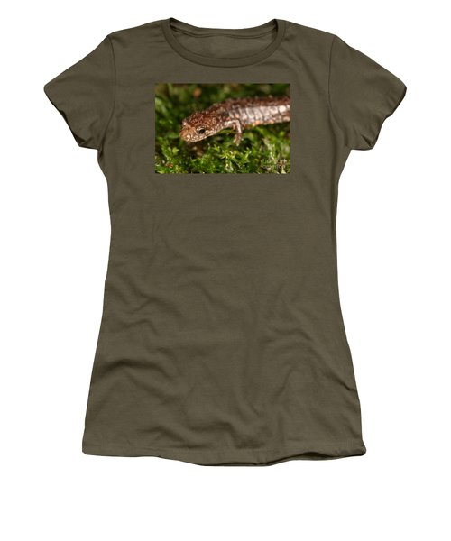 Red-backed Salamander Women's T-Shirt (Athletic Fit)