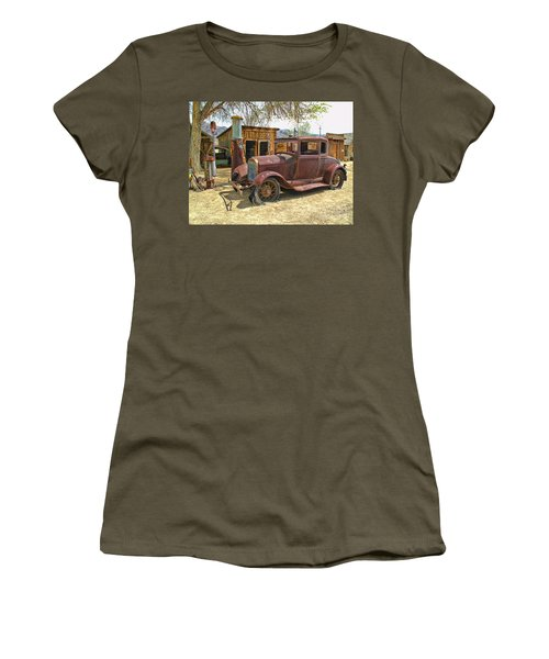 Retired Model T Women's T-Shirt (Junior Cut) by Jason Abando