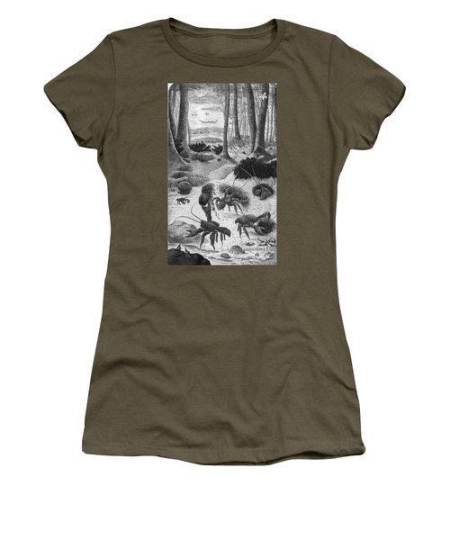 Robber Crab, What Darwin Saw, 1879 Women's T-Shirt