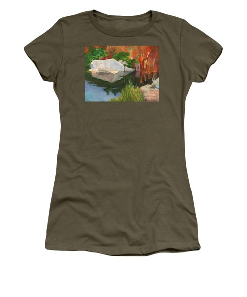 Rockport Quarry Reflection Women's T-Shirt (Athletic Fit)