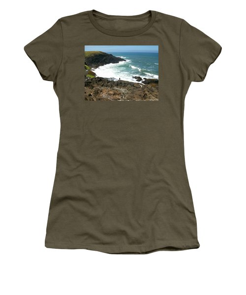 Rocky Ocean Coast Women's T-Shirt