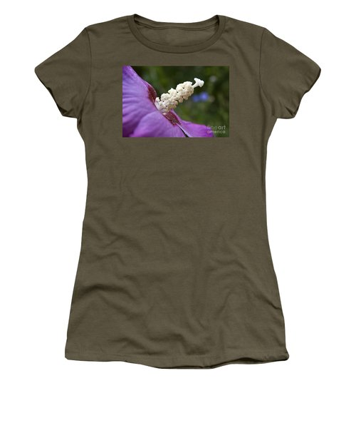 Women's T-Shirt (Junior Cut) featuring the photograph Rose Of Sharon by Jeannette Hunt