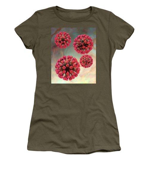 Rubella Virus Particles Women's T-Shirt