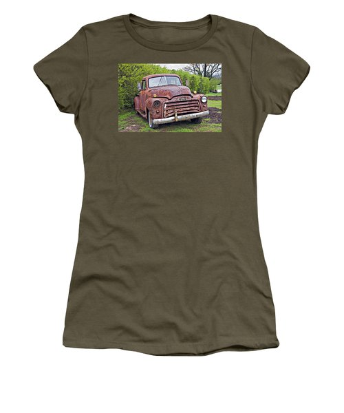 Sad Truck Women's T-Shirt (Athletic Fit)