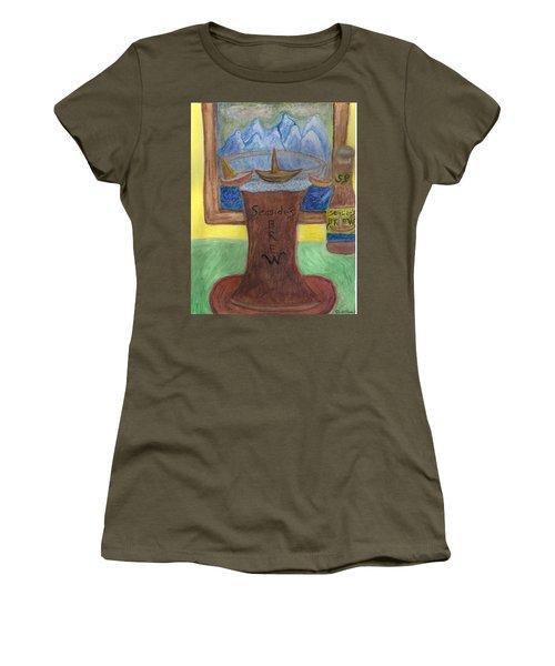 Sail A Head  Women's T-Shirt (Athletic Fit)