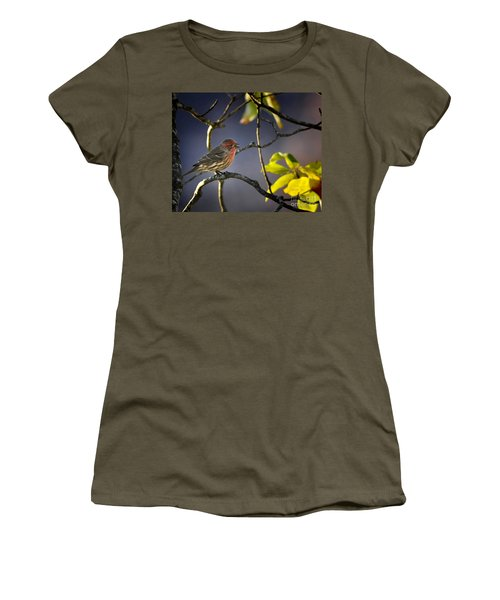 Women's T-Shirt (Junior Cut) featuring the photograph Singing In The Morning by Nava Thompson