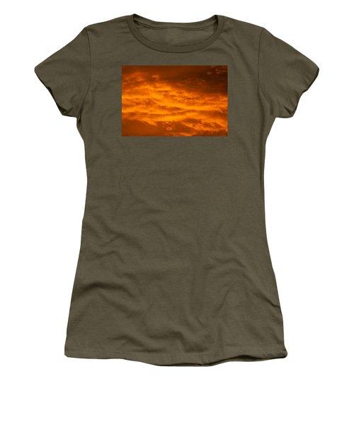 Sky Of Fire Women's T-Shirt