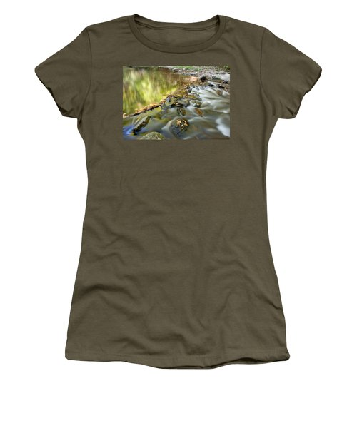 Smoky Mountain Streams Iv Women's T-Shirt (Athletic Fit)