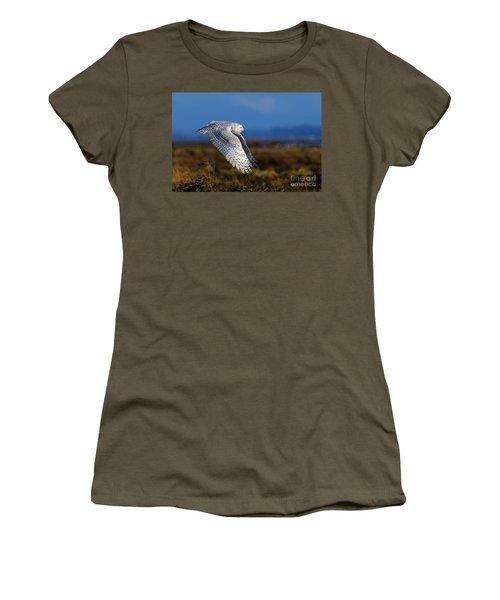 Snowy Owl 1b Women's T-Shirt