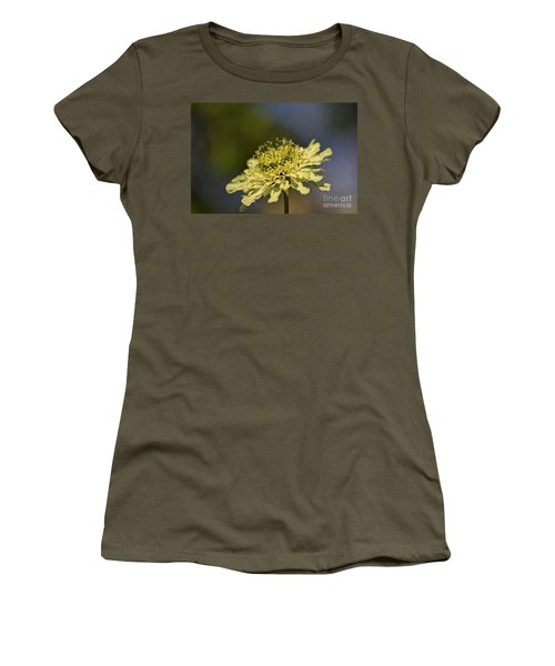 Women's T-Shirt (Junior Cut) featuring the photograph Soft Yellow. by Clare Bambers