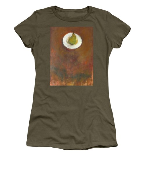 Women's T-Shirt (Junior Cut) featuring the painting Solo by Kathleen Grace