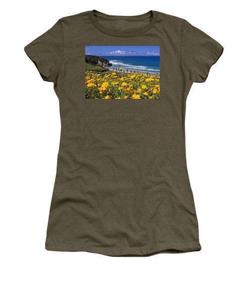 Springtime On The Headlands Women's T-Shirt