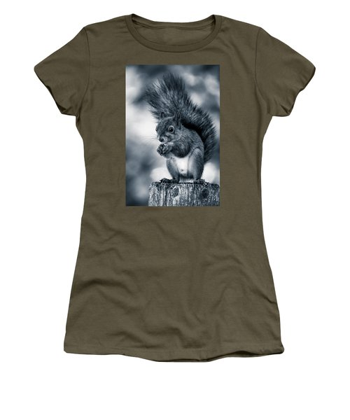 Squirrel In Monochrome Women's T-Shirt