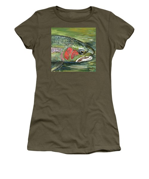 Steelhead  Women's T-Shirt (Athletic Fit)