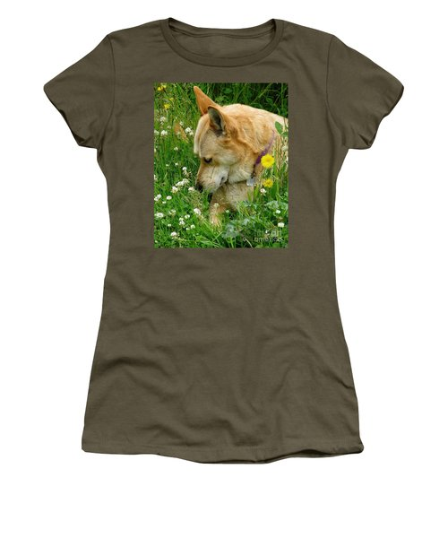 Stop And Smell The Clover Women's T-Shirt