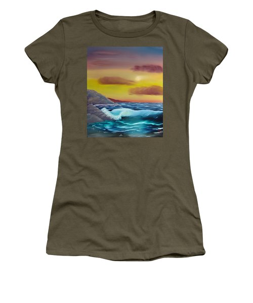 Stormy Beach Women's T-Shirt