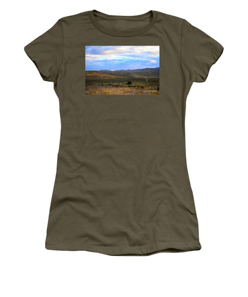 Stormy Wyoming Sunrise I Women's T-Shirt