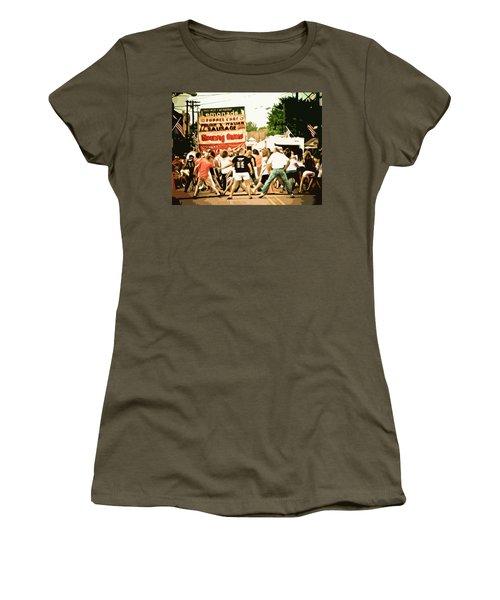 Street Dance Women's T-Shirt (Junior Cut) by Jessica Brawley