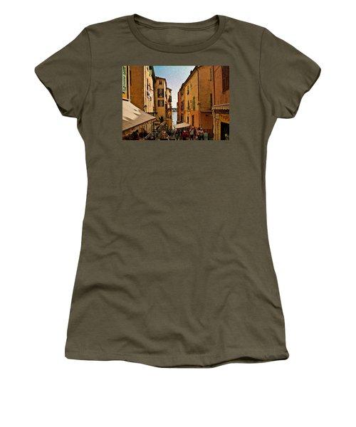 Street In Villefranche II Women's T-Shirt