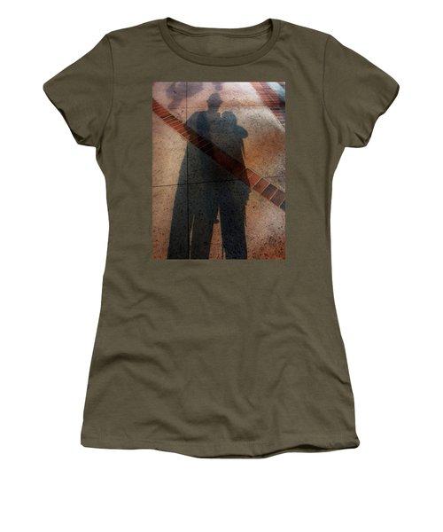Street Shadows 002 Women's T-Shirt (Junior Cut) by Lon Casler Bixby