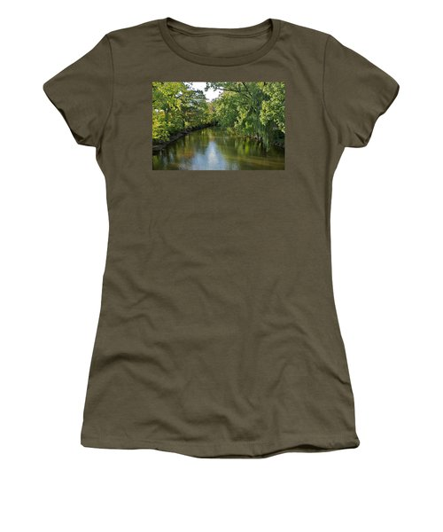 Women's T-Shirt (Junior Cut) featuring the photograph Summer Light by Joseph Yarbrough