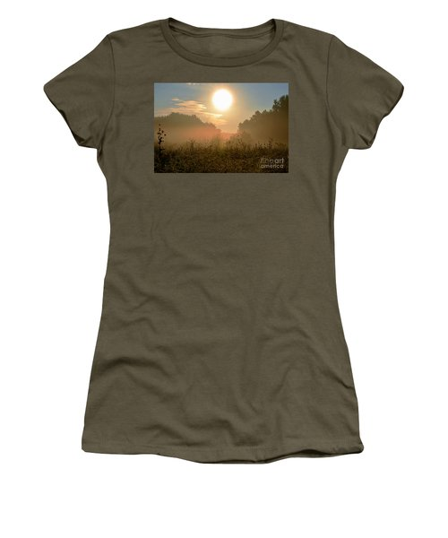 Sunny Side Up Women's T-Shirt (Junior Cut) by Sue Stefanowicz