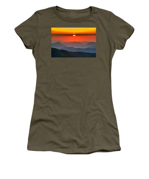 Sunset In Balkans Women's T-Shirt