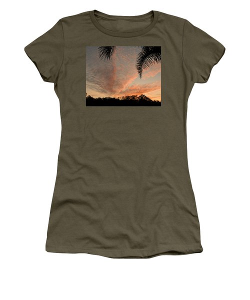 Sunset In Lace Women's T-Shirt