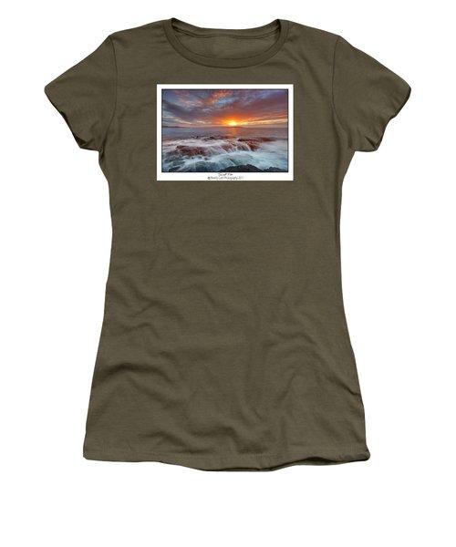 Sunset Tides - Cemlyn Women's T-Shirt