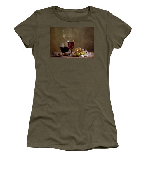 Supper With Wine Women's T-Shirt