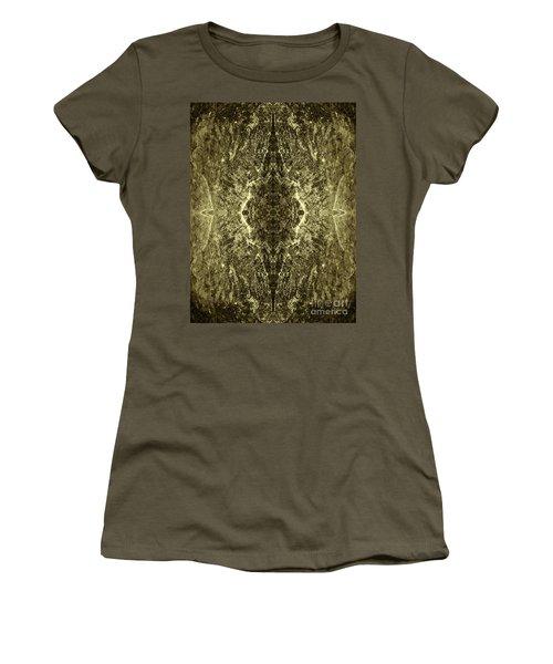 Tessellation No. 4 Women's T-Shirt (Junior Cut) by David Gordon
