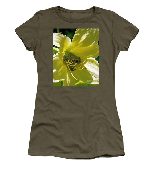 The Day Lily Met Her Prince Women's T-Shirt (Athletic Fit)