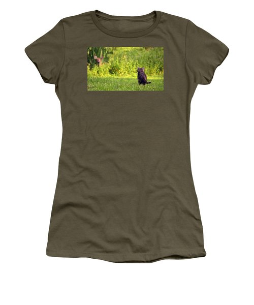 The Deer Hunter Women's T-Shirt (Athletic Fit)